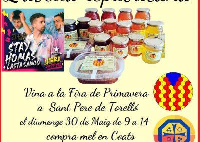 Fins el 31 juliol a L'Abella Republicana, compra mel o espelmes, CROATS de regal, la criptomoneda catalana. Sortegem dues entrades per veure els Stay Homas