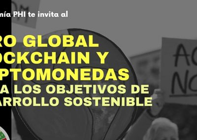 Global Blockchain and Cryptocurrency Forum to the United Nations SDGs – September 21